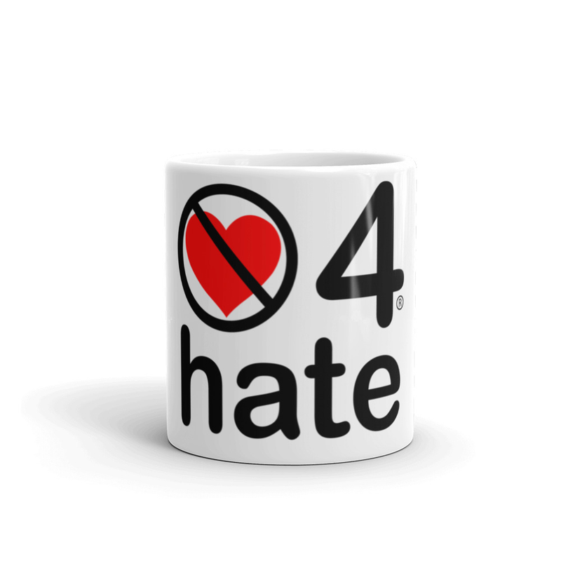 no love 4 hate - Mug