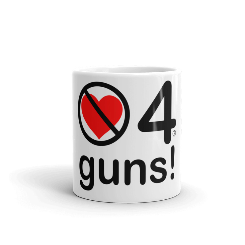 no love 4 guns! - Mug