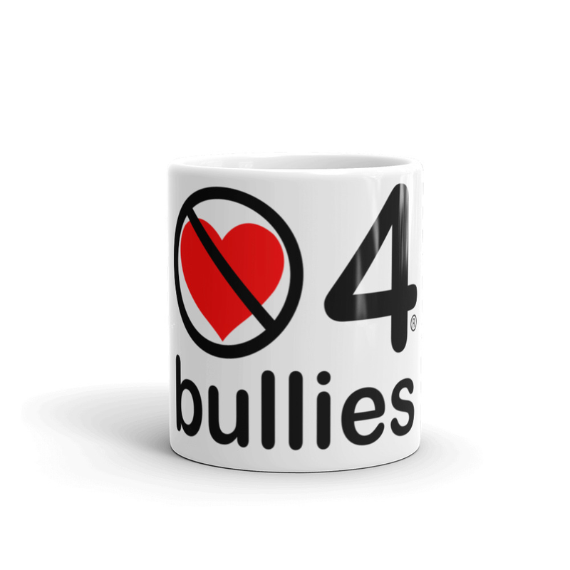 no love 4 bullies - Mug