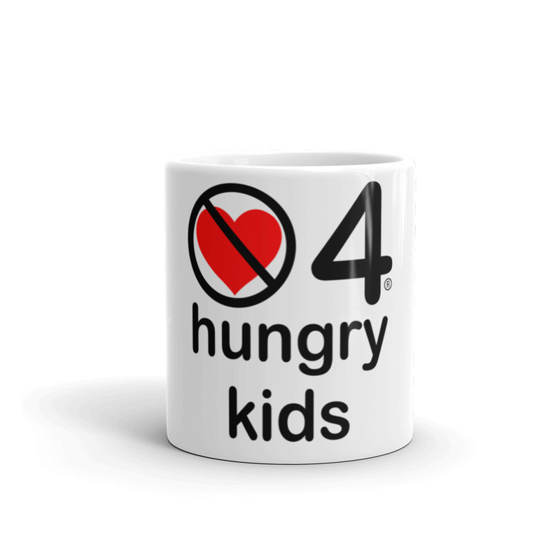 no love 4 hungry kids - Mug