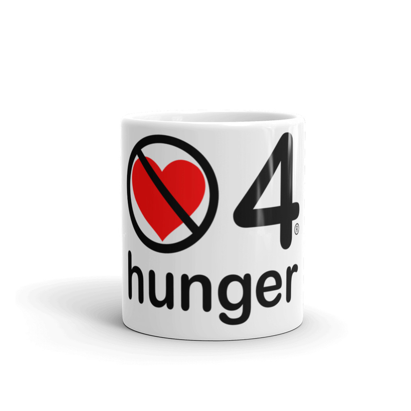 no love 4 hunger - Mug